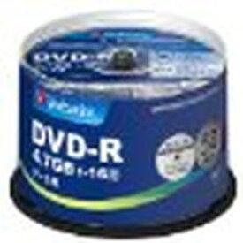 Verbatim DVD-R(Data) 1回記録 4.7GB 1-16倍速 スピンドルケース 50P(DHR47JP50V4) 目安在庫=○