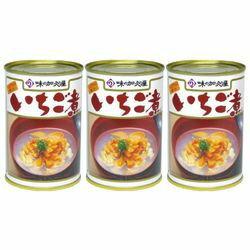 加久の屋 青森の味! ウニ と アワビ を使用した潮汁 元祖 いちご煮 415g【3個セット】(17080995*3) 目安在庫=○
