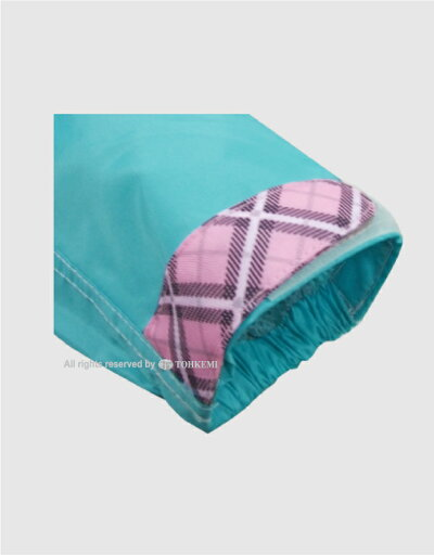 トオケミ(TOHKEMI)【AG(エージー)】レディース透湿レインウェア透湿AGレインスーツ(#7705AG-WMAG(ブルー)♥入り)+吸湿速乾ハンドタオル(ピンク)セットサイズ:S-L