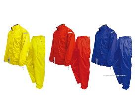 【送料無料】 トオケミ(TOHKEMI) レインウェア 新・AMAYADORI(#4610 テフロン仕様) [ブルー/イエロー/レッド] [S-3L] 【上下 メンズ 防水 ゴルフ 登山 アウトドア 軽量 雨 子供 自転車 おしゃれ レインコート レインスーツ 合羽】