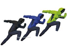 【送料無料】【迅速発送】フレキシブルな運動性能! トオケミ 全天候型 透湿・軽量レインウェア ストレッチ レインスーツ(#7900)〈ポーチ付〉【上下セット メンズ ゴルフ 登山 アウトドア スポーツ おしゃれ レインコート 合羽 かっこいい 通勤 通学】