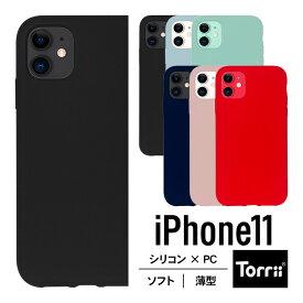 iPhone 11 ケース 耐衝撃 衝撃 吸収 ポリカーボネイト × シリコン ハイブリッド 薄型 ハード カバー 防指紋 加工 対衝撃 スマホケース スマホカバー 携帯ケース スマートフォンケース [ Apple iPhone11 アイフォン11 対応 ] Torrii BAGEL
