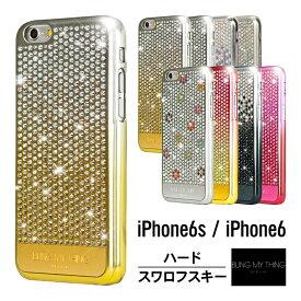 e7aec3af2e iPhone6s ケース iPhone6 ケース スワロフスキー キラキラ ラインストーン 最高級 ラグジュアリー モデル 薄型 スリム ハード カバー  大人 女子 大人 かわいい ...