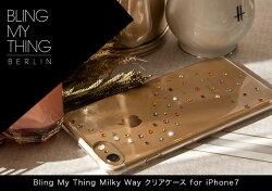 【送料無料⇒おまかせ便で】iPhone7ケースBlingMyThingMilkyWayクリアケースcreatedwithSwarovskiCrystalsforAppleiPhone7【国内正規品】