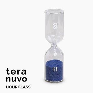 Teranuvo 砂時計 おしゃれ サンドタイマー コーヒー / 紅茶 道具 コーヒーグッズ コーヒータイマー ティータイマー おすすめ インテリア プレゼント HOURGLASS