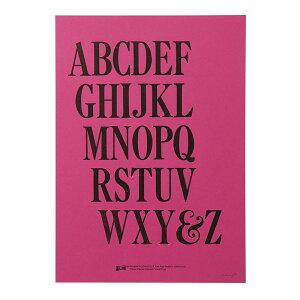 【ATPP】TypographyPoster/Lsize320mm×450mm(全34柄中11柄)