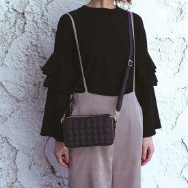 在庫限り 【umber】 アンバーウォレットショルダーバッグ(8色) コレクション  キャッシュレス ワンマイルバッグ