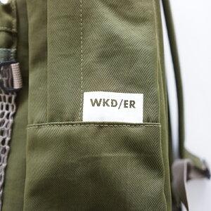 2020SS【WKD/ER】COMBINATIONMESHDAYPACK(3色)ウィークエンダーweekend(er)リュックデイパックメンズ男女兼用メッシュベーシックカラーキャンプアウトドアフェス新作