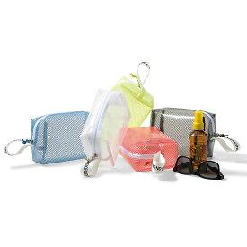 在庫限り【WKD/ER】 Pool side pouch (5色)weekend(er) ポーチ コレクション