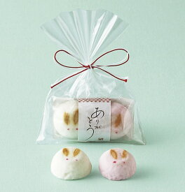 プチギフト 京菓子うさぎほうずい 結婚式 二次会 ブライダル ウエディング パーティー ギフト お菓子 和 退職
