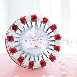 プチギフト バタフリーローズレッド(26個) 結婚式 二次会 ブライダル ウェディング ウエディング プチギフト ウェルカムボード パーティー イベント お菓子 かわいい