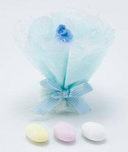 プチギフト プチローズプリンセス ブルー1個 結婚式 二次会 激安 人気 プチギフト お菓子 かわいい ブライダル ウェディング ウエディング プチギフト