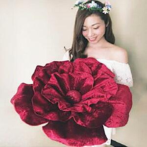 ロイヤルジュエリーフラワー ベロアタイプレッドL 演出 フラワー ビッグフラワー 造花 アイテム 結婚式 二次会 パーティー ウェディング