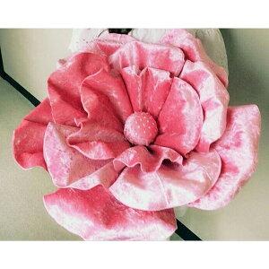ロイヤルジュエリーフラワー ベロアタイプピンクL 演出 フラワー ビッグフラワー 造花 アイテム 結婚式 二次会 パーティー ウェディング