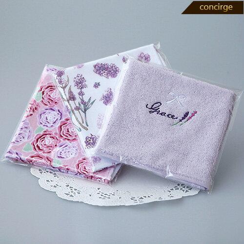 プチギフト タオル フラワータオルハンカチ1枚 選べるカード付き タオル 激安 退職 結婚式 プレゼント ギフト かわいい