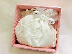 Pupil.keiプリンセスポーチ ギフトボックス入り 結婚式 ポーチ メイクポーチ メイク バッグ 贈り物 小物入れ 演出 プレゼント ラッピング ウエディング ウェディング かわいい プリンセス