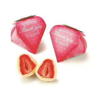 プチギフト かわいい 子供 まるごといちごピュアショコラ1個※お届け期間10月-4月 退職 チョコ お菓子 まるごと苺 結婚式 まるごと苺 かわいい チョコレート