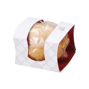 プチギフト 和菓子 ふく最中(おしるこ)小箱セット100個入 食品 結婚式 お配り ギフト もなか 正月 お配り 販促 景品