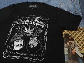 CHEECH & CHONG SHORT SLEEVE T-SHIRTS [WHISKEY LABEL] [ミュージック/音楽] / チーチ&チョン ショートスリーブ Tシャツ