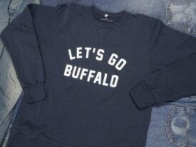 OXFORD PENNANT CREWNECK SWEATSHIRT [Let's Go Buffalo] / オックスフォードペナント クルーネック スエットシャツ