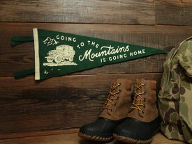 OXFORD PENNANT PENNANT [Going to the Mountains is Going Home Pennant] / オックスフォードペナント ペナント
