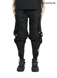 【キャッシュレスポイント還元 対象店】 (再入荷) 19aw BLACKTAILOR ブラックテーラー C14 CARGO PANTS カーゴパンツ ブラック 正規取扱店