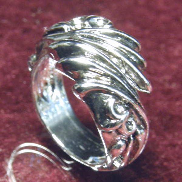 ウイング シルバー リング 指輪 翼 アクセサリー 17号 19号 21号 メンズ 彼氏 男性用 サイズ