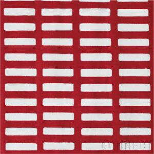 artek(アルテック) SIENA ファブリック(生地) レッド×ホワイト(1mカット) 北欧 パネル クッション カットクロス