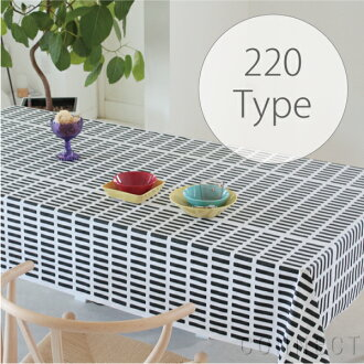 artek(ALTECH)SIENA黑色220cm桌布(防水加工)北欧纤维(布料)桌布()