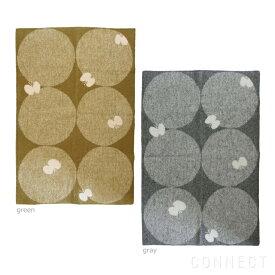 KLIPPAN(クリッパン)×mina perhonen(ミナペルホネン) PERHONEN ウールブランケット ハーフサイズ 90×130cm