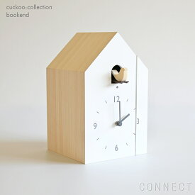 LEMNOS(レムノス)/cuckoo-collection bookend(ブックエンド)カッコー時計・鳩時計 置時計【送料無料】
