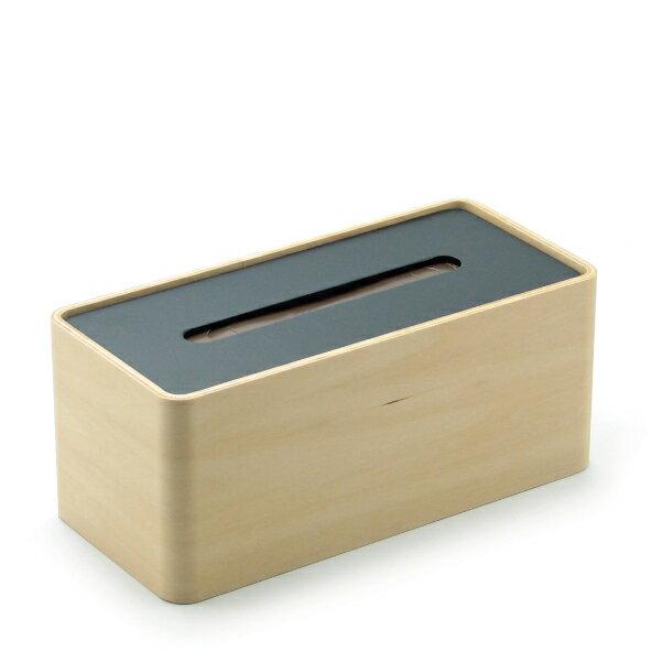 LEMNOS(レムノス)/Da design arraySTOCK ブラック ティッシュケース 木製ティッシュボックスケース ティッシュカバー