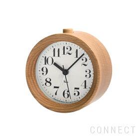 LEMNOS ( レムノス ) / Riki Alarm Clock(リキアラームクロック) 太字 ナチュラル 渡辺カデザイン 時計 置き時計 インテリア 置時計 アラームクロック