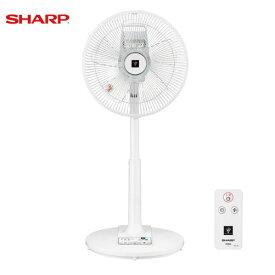 シャープ 扇風機 リビングファン [PJ-J3AS-W] カラー:ホワイト系 プラズマクラスター7000 空気浄化 消臭 除電(静電気除去) あす楽