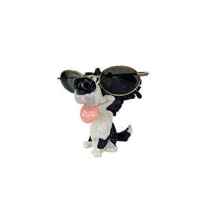 メーカー直送 東洋石創 The GROBAL MARKET(グローバルマーケット) 眼鏡スタンド(ボーダー・コリー) [32004] 海外雑貨 輸入雑貨 W95×H120×D90 ○