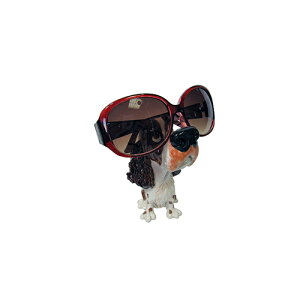 メーカー直送 東洋石創 The GROBAL MARKET(グローバルマーケット) 眼鏡スタンド(スパニエル) [32005] 海外雑貨 輸入雑貨 W80×H130×D80 ○