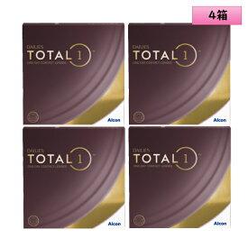 アルコン デイリーズ トータルワン 90枚入 4箱セット<ワンデーコンタクトレンズ ALCON DAILIES TOTAL1 ValuePack>
