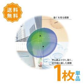 【ポスト便】【送料無料】HOYA マルチビューEX (α) アルファ 片眼用 1枚 遠近両用 ハードコンタクトレンズ 累進屈折力コンタクト 高酸素透過性 1週間以内の連続装用 ホヤ