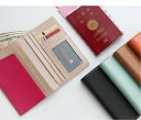 本革 リアル牛革 Believe スキミング防止 本革パスポートケース 5色 財布/航空券/チケット/小物すっきリ収納/保険…