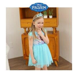 【アナと雪の女王】アナと雪の女王風 ワンピース ワンピ 洋服 ドレス 子供用 エルザ  子供服 女の子 ディズニー Disney Frozen コスチューム cosplay