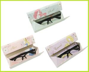 プリンセス 折りたたみメガネケース クロス付き 全3種メガネケース/眼鏡ケース/めがねケース/サングラス/眼鏡ケース/めがね入れ/サングラスケース/保管/メガネクロス/可愛い/おしゃれ/
