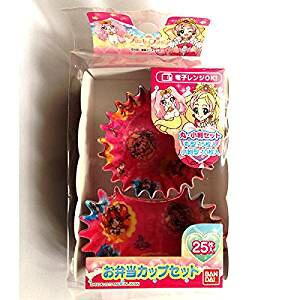 GO!プリンセスプリキュア お弁当カップ(25枚入)キャラ弁 キャラクター 【お弁当箱】【ランチ】【子ども用】【可愛い】【プレゼント】】【ランチボックス】