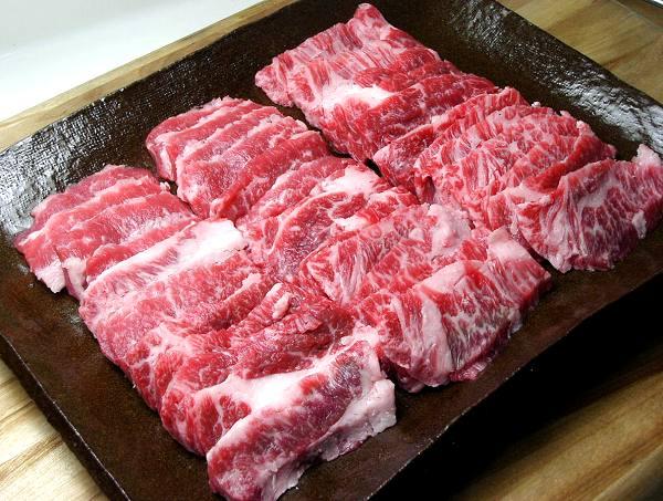 【9,720円(税込)以上で送料無料】甲州ワインビーフ焼肉用カルビ【並】(1kg)
