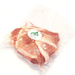 北海道産ホエイ豚(ホエー豚)モモスライス1kg【4129】【訳あり】【業務用】【焼肉セット】【10P03Dec16】