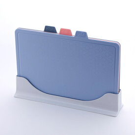 抗菌 インデックスカッティングボード 3枚セット スタンド付き ナノシルバー アドバンスドア【まな板 食洗機対応/まな板立て セット/送料無料/】