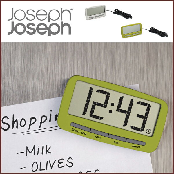 Joseph Joseph ) Clip Timer Kitchen Timer ◇ Jozefjozef / Clock Function /  Clock / Digital / Magnet / Clip / Stand / Timer / Kitchen / Kitchen /  Kitchen ...