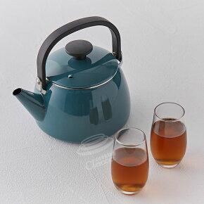 富士ホーロー,ホーローケトル,2.5L,CLF-2.5K.SB,琺瑯,麦茶,やかん,ほうろう