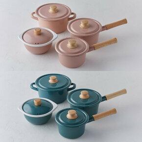富士ホーロー,コットン,ミルクパン,14cm,CTN-14M,片手鍋,ホーロー鍋