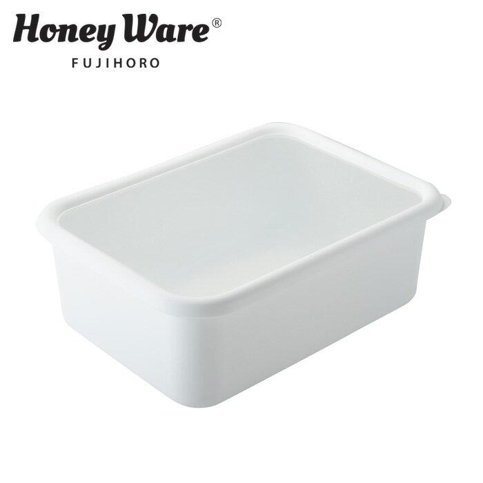 富士ホーロー クリスティーナ 深型角容器LL ホワイト JC-DLL【ホーロー容器/琺瑯容器/保存容器/白/送料無料/あす楽】