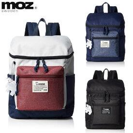 moz モズ ミニリュックサック ZZEI-04 ブラック・ネイビー・トリコロール 【バッグ/バックパック/小ぶり/小さめ/コンパクトサイズ/レディース/メンズ/北欧/ブランド/送料無料/あす楽】